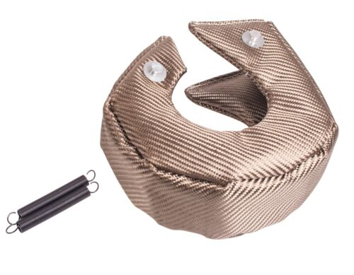 Titanium T3 Turbo Charger Cover Turbo Blanket Heat Shield Cover for T3