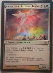 Annonciateur de l'Aube Blanche PREMIUM / FOIL VF - Bringer of the White Dawn Mtg
