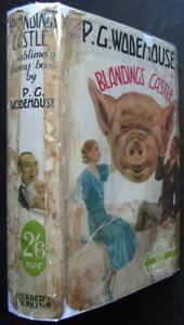 P. G. Wodehouse,  Blandings Castle, 1st Edition 1935 in Original Dust Jacket