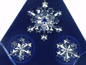 SWAROVSKI CHRISTMAS ORNAMENT SET 2004 MIB #682961   eBay