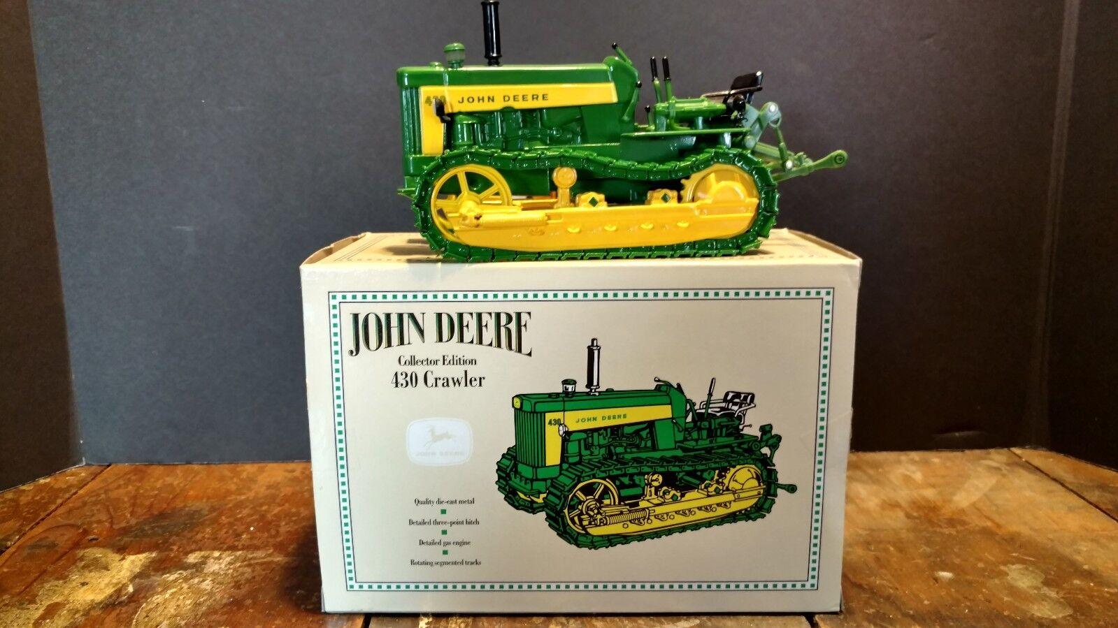 ERTL John Deere 430 Crawler échelle 1 16 Diecast Toy Collector Edition