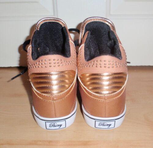 Laced Sire Pastry Bnib Boots Gold Punk Size Varsitiy Womens 6 39 Uk Eu xqRxYf4n