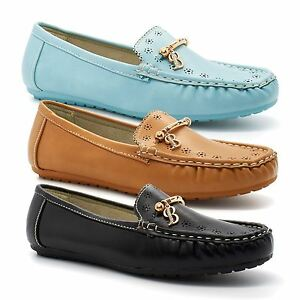 c9170630f1ab0 Womens Ladies Flat Shoes Size Tassel Loafers Smart Casual Slip On ...