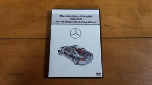 mercedes benz all models 1982 2008 service repair workshop manual rh ebay com