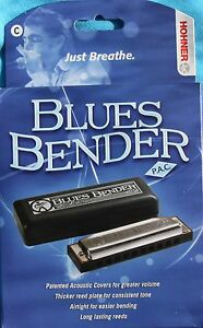 Hohner Blues Bender Harp, Key of C, Factory Sealed Box, BB-BX-C