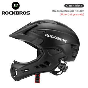 ROCKBROS Ultralight MTB Cycling Helmet Motorcycle Kids Childs MOTO Safety Gear