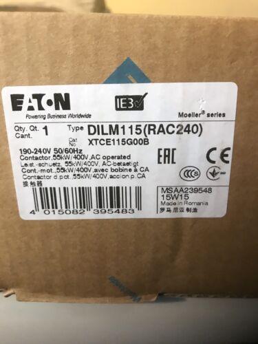 DILM115 RAC240VAC   190V50//240V60HZ   EATON MOELLER SERIES