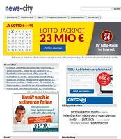 Webprojekt   news-city.de   Geld verdienen   16 Jahre alt (ähnlich Google News)
