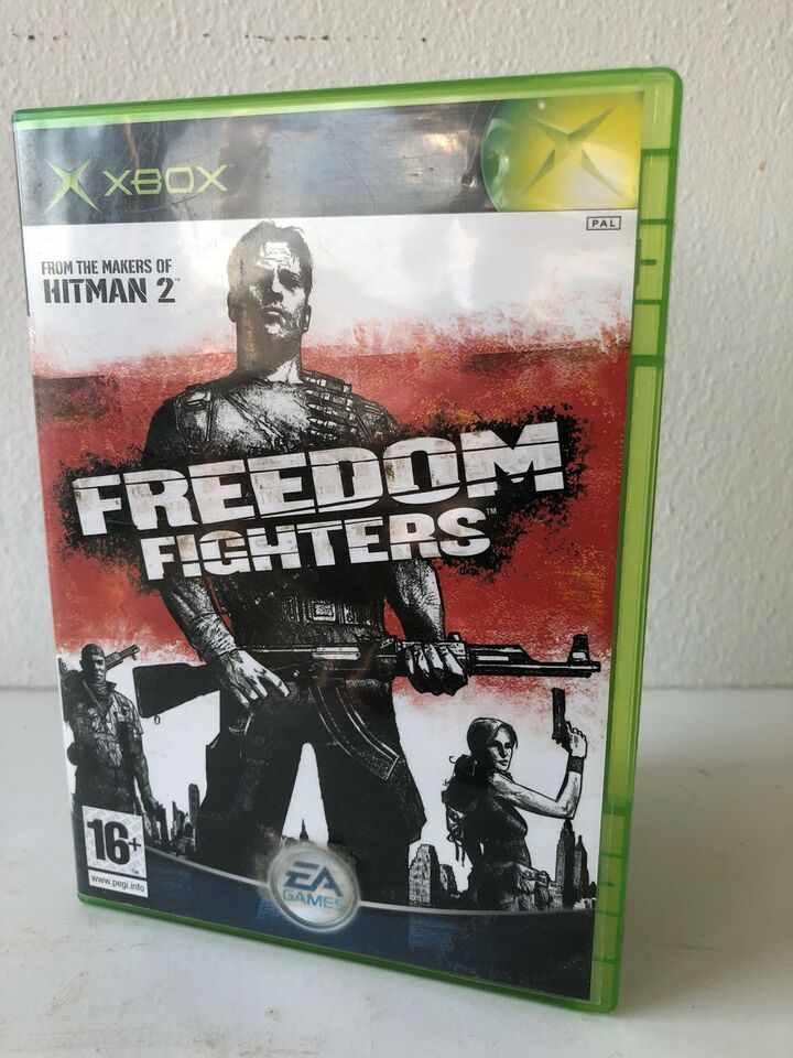 Freedom Fighters, Xbox, action