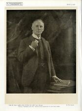 The Rt. Hon. James Avon Clyde Lord Advocate by Wm. Crooke Kunst- Photodruck 1920