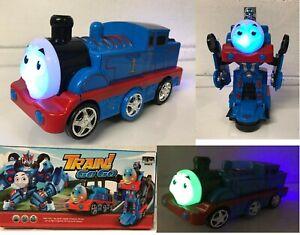 TRANSFORMERS-TRAIN-ROBOT-BUMP-amp-GO-TRAIN-LIGHTS-SOUNDS-CAR-BOYS-GIRLS-TOYS-UK