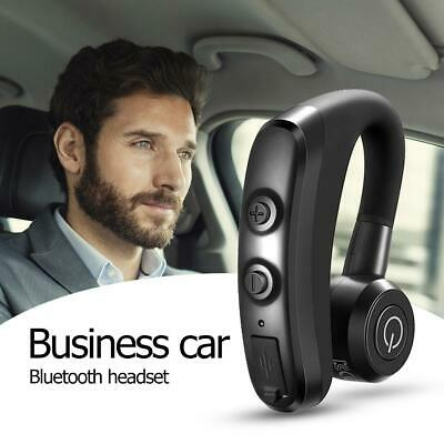 V9 Handsfree Wireless Business Bluetooth Headset With Mic For Driver Sports Ebay