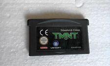 TMNT Teenage Mutant Ninja Turtles Gameboy Advance GBA EUR Batteria Funzionante