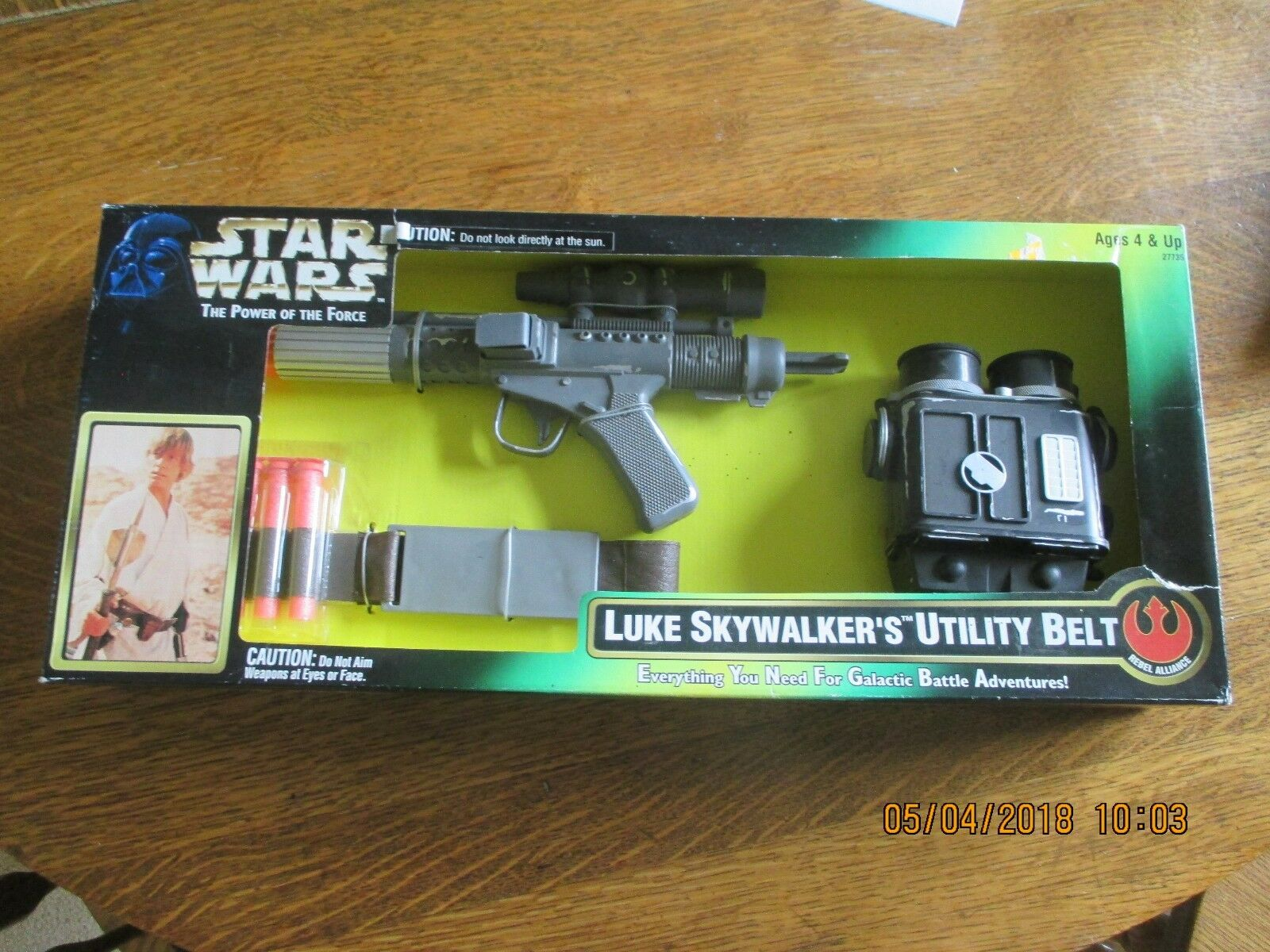1996 Star Wars POTF Luke Skywalker's Utility Belt Blaster Binoculars by Kenner