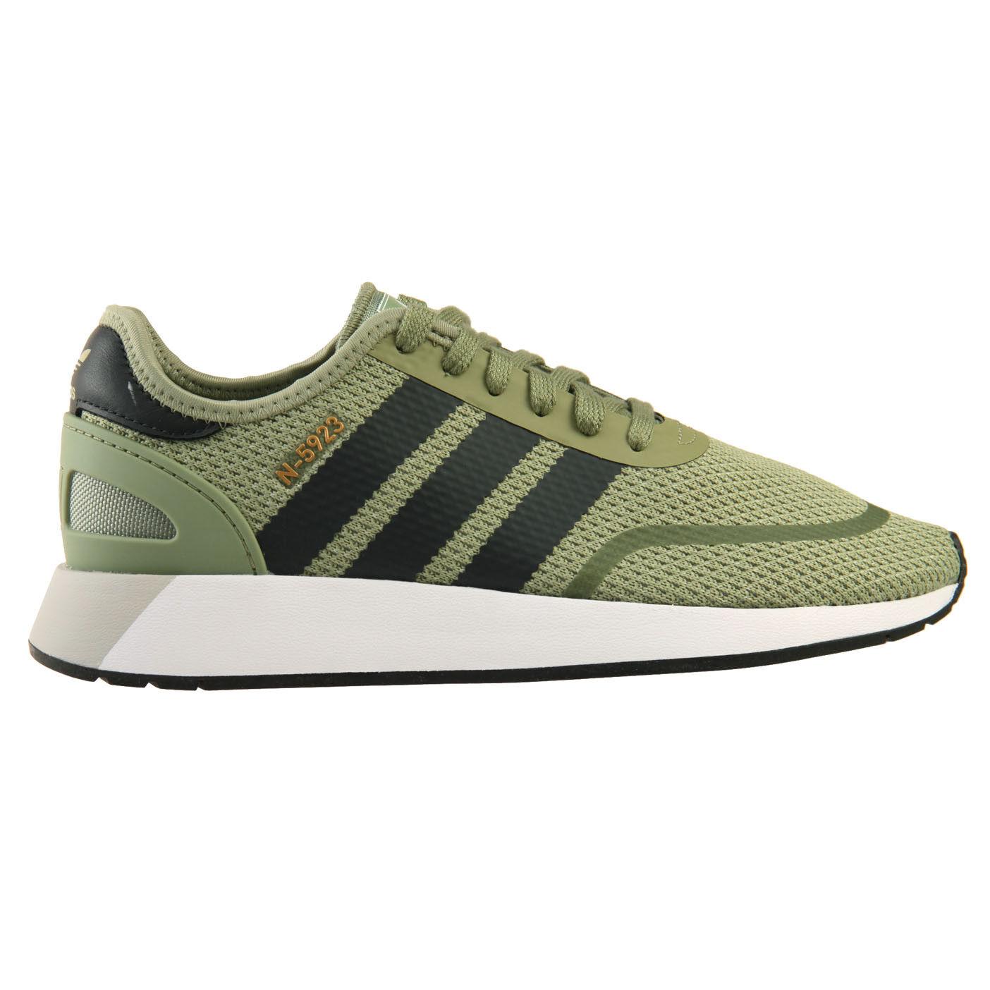 288a5f165d Adidas N-5923 para hombre DB0959 Carpa verde De Carbono blancoo Running Zapatos  Talla 10