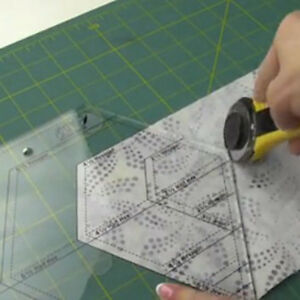 diamond shaped acrylic ruler quilt patchwork template quilting