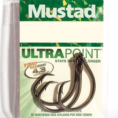 Mustad 3262NP-BU Superior Aberdeens Hooks in Bags of 5 to 10 hooks