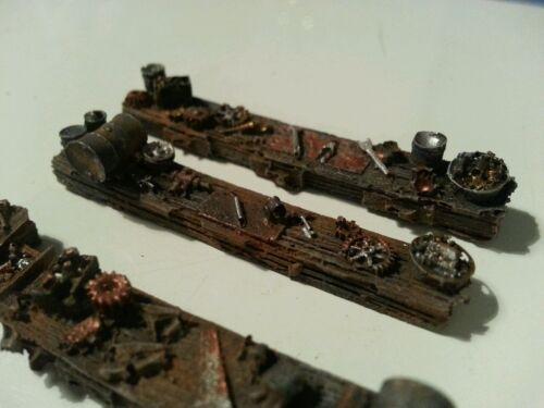 High detailed table tops resin castings suit HO OO gauge unpainted