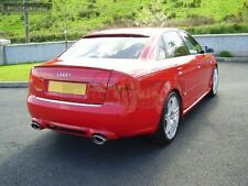 Audi A4 B7 05-08 Saloon Sedan Spoiler RS4 Look rear RS S Sline s-Line Trunk Lip