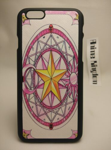 USA Seller Apple iphone 6 /& 6S Anime Phone case cardcaptor sakura Card design