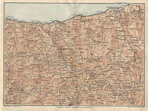 Cartina Sicilia Antica.Carta Geografica Antica Sicilia Caronie Messina Tci 1919 Antique Map Ebay
