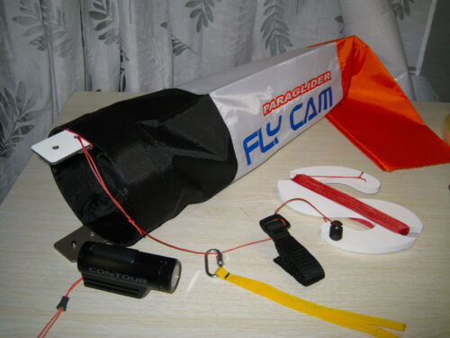 """New /""""Chase Cam/"""" for paramotor /& paragliding New Design /""""FLY CAM/"""""""