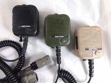 TRI Thales Type Hand Mic OD Triumph Instrument Radio PRC 152 PRC 148 Military