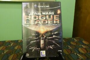 Star Wars Rogue Leader - Rogue Squadron II (Nintendo GameCube 2001) No Manual VG