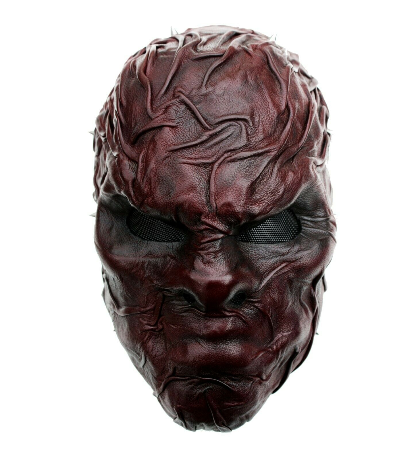 Wearable Leather Mask Steampunk Gothic Metal Bands Theatre Handmade Uk