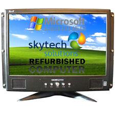 "HANNSPREE XM-S M19W1 19"" LCD TN Monitor TFT DVI VGA Built In Speakers Gaming"