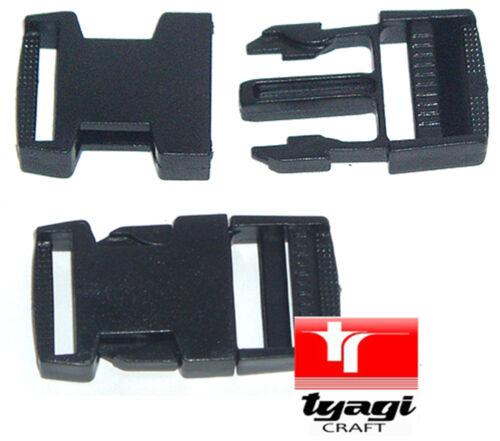 Libération rapide côté Clip boucles 15mm 20mm 25mm 30mm 38mm 50mm fixation sangles