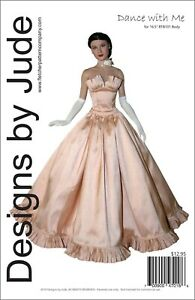 """Claire Tonner Classic Suit Doll Clothes Sewing Pattern for 16.5/"""" RTB101 Rayne"""