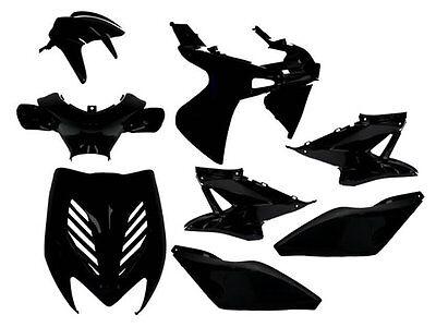 Yamaha Aerox YQ 50cc Matt Black Body Panel Kit