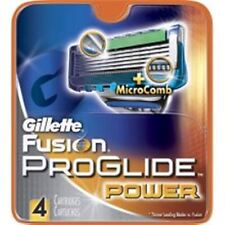 Gillette Fusion ProGlide Power Cartridges 4 Each (Pack of 3)