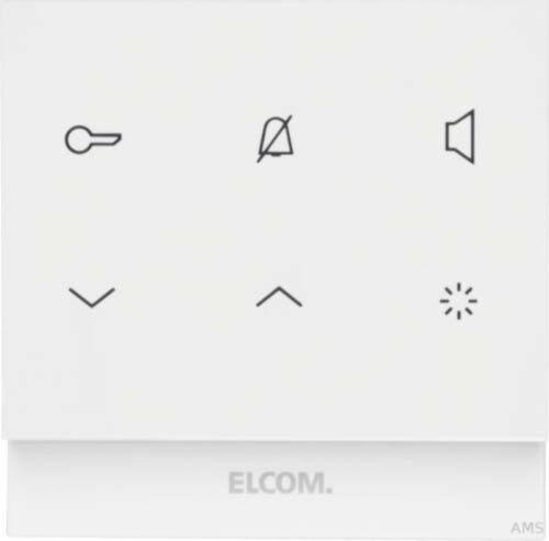 Elcom Intérieur Station-Audio rectangulaire 2d polarws glänz Touch rek221y