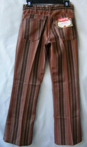 Levis Sta-Prest Flares BIG E Jeans 27 28 Vtg 60s D