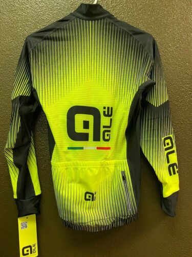 Men/'s XS-XXL Alé Cycling PRR Long Sleeve Jersey Fluo Yellow