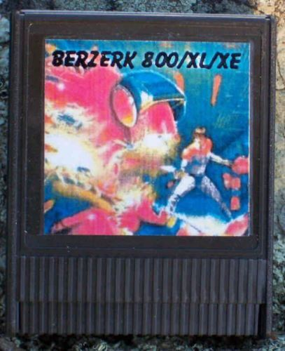 Berzerk cartridge 800//XL//XE Atari New