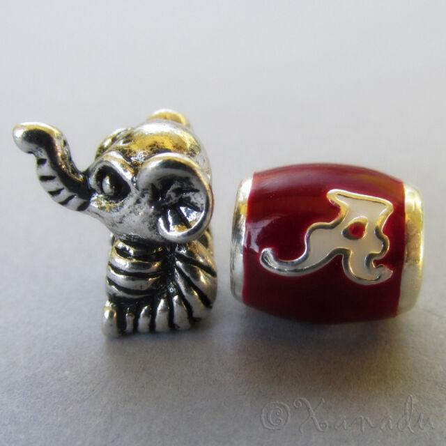 University Of Alabama Crimson Tide Football Logo And Big Al Elephant Mascot
