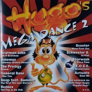 Hugo-039-s-Megadance-2-1995-Scatman-John-Adiemus-Starwash-Schwester-S-G-CD