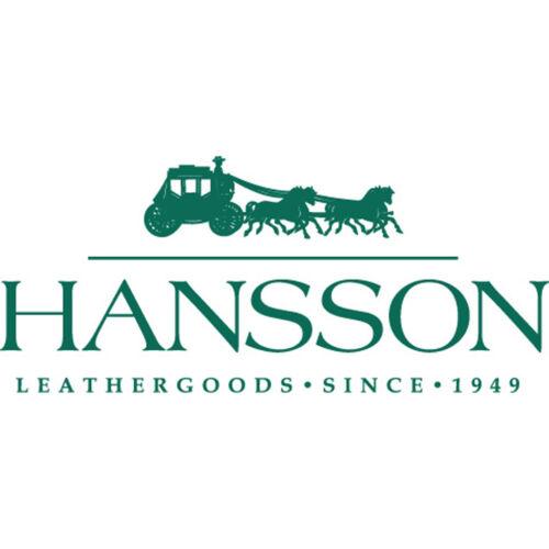 Hansson-bleu en cuir italien portefeuille portefeuille porte-monnaie dans boîte cadeau