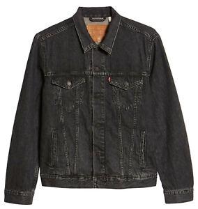 Levi-039-s-Strauss-Men-039-s-Button-Front-Cotton-Denim-Trucker-Jean-Jacket