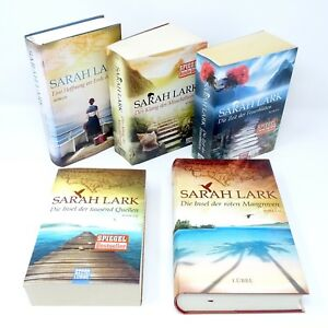 SARAH-LARK-Insel-Feuerblueten-Saga-Hoffnung-Klang-Muschelhorns-Insel-5x-Buch