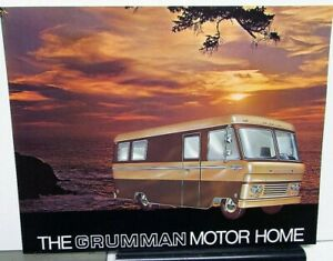 1960s Grumman Motor Home Dealer Sales Data Sheet Vintage Camper Rv Allied Ind Ebay