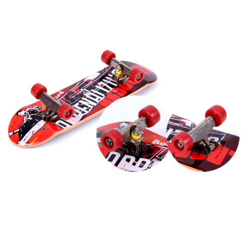 Cute ABS Fingerboard Model Kids Funny Skateboard Toys for Party Favors