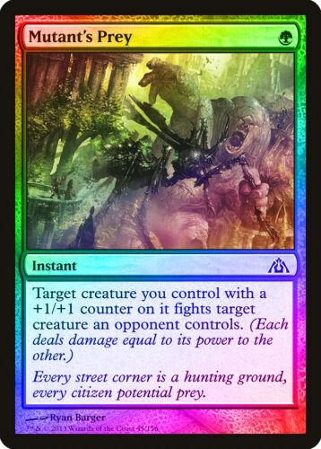 Mutant/'s Prey FOIL Dragon/'s Maze NM Green Common MAGIC GATHERING CARD ABUGames