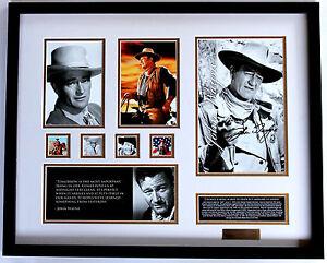 New-John-Wayne-Signed-Limited-Edition-Memorabilia-Framed