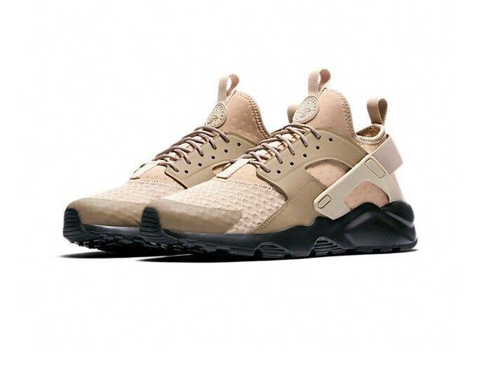 Nike air huarache laufen ultra ultra ultra - schuhe in  10  pilz khaki - schwarze schuhe cf3c13