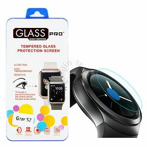 For Samsung Galaxy Gear S2 Smart Watch Tempered Glass ...