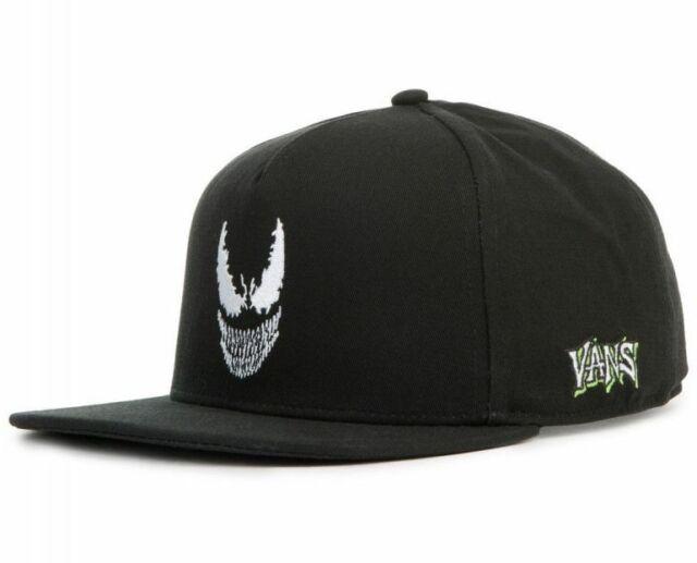 Vans Off the Wall Marvel Venom Snapback Cap Hat Skating Skateboard Comics  Summer 72c2805e736